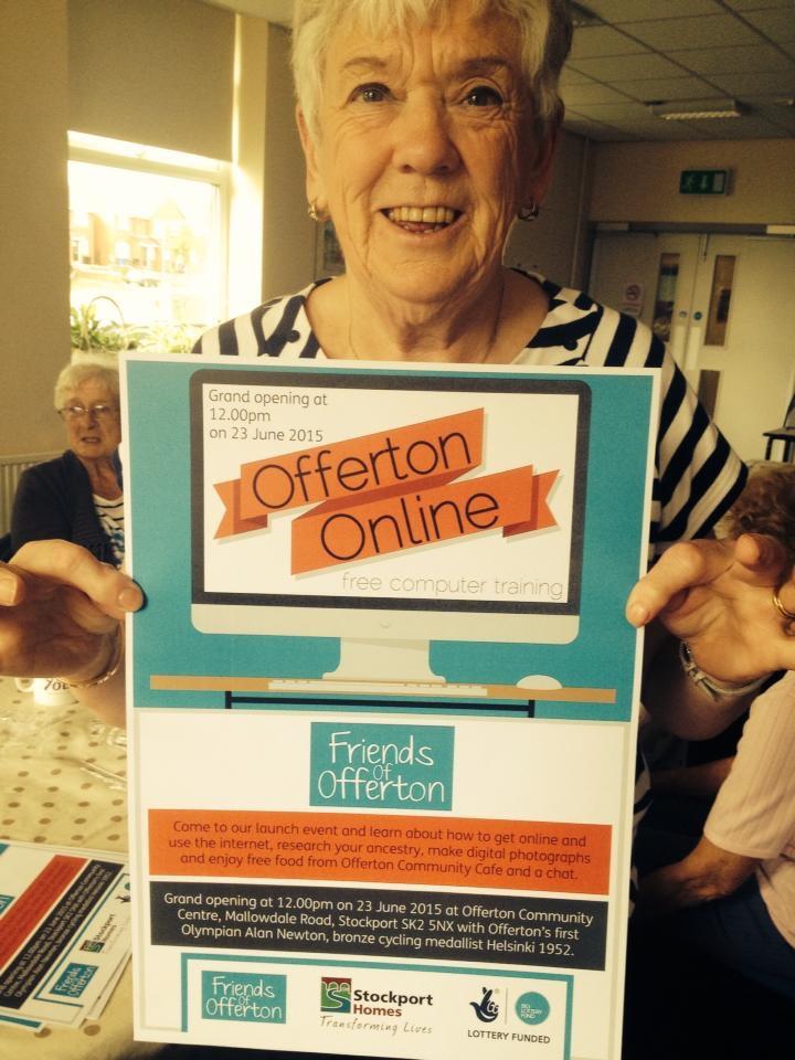 Offerton Online launch